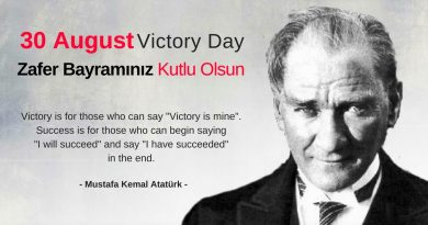 30 August: Victory Day in Turkey