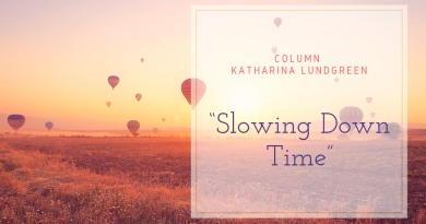 Slowing down time